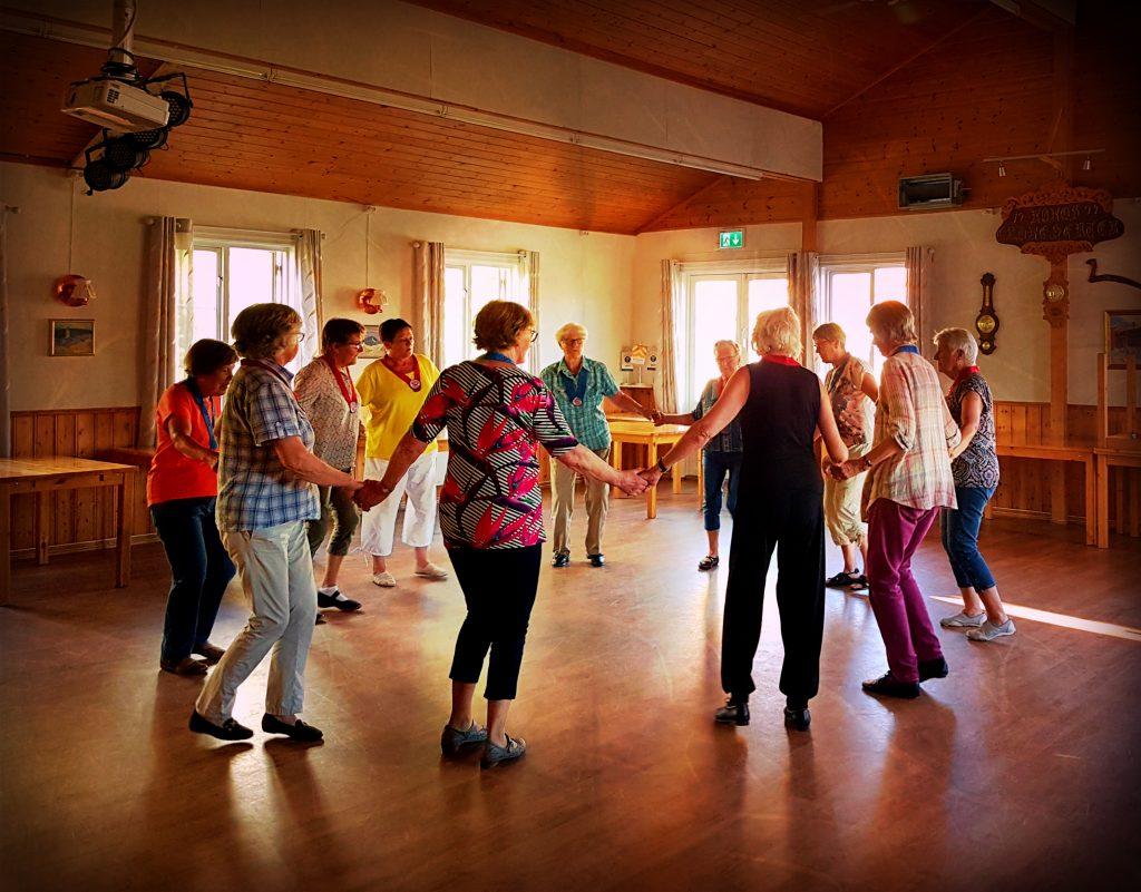 Åpen øvelse med Røros seniordans