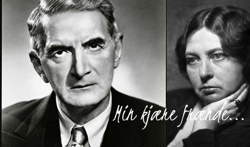 Min kjære frænde:   Vennskapet mellom Johan Falkberget og  Sigrid Undset