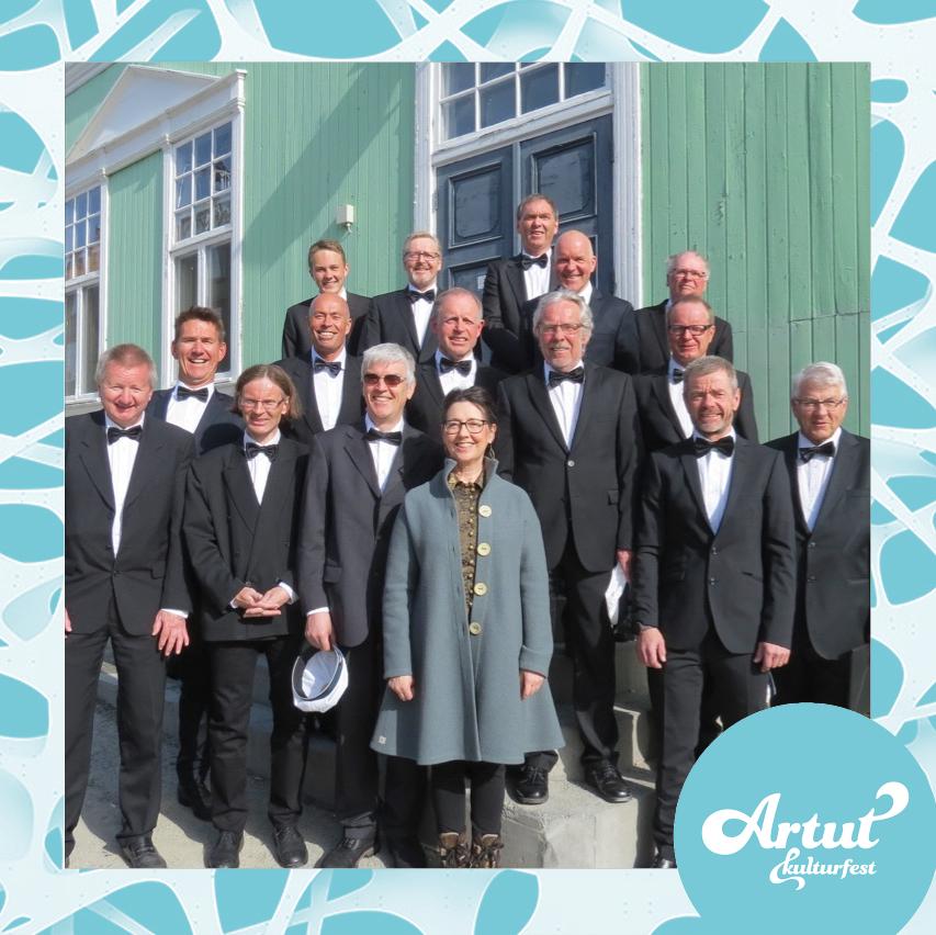 Miniturné med Røros sangforening