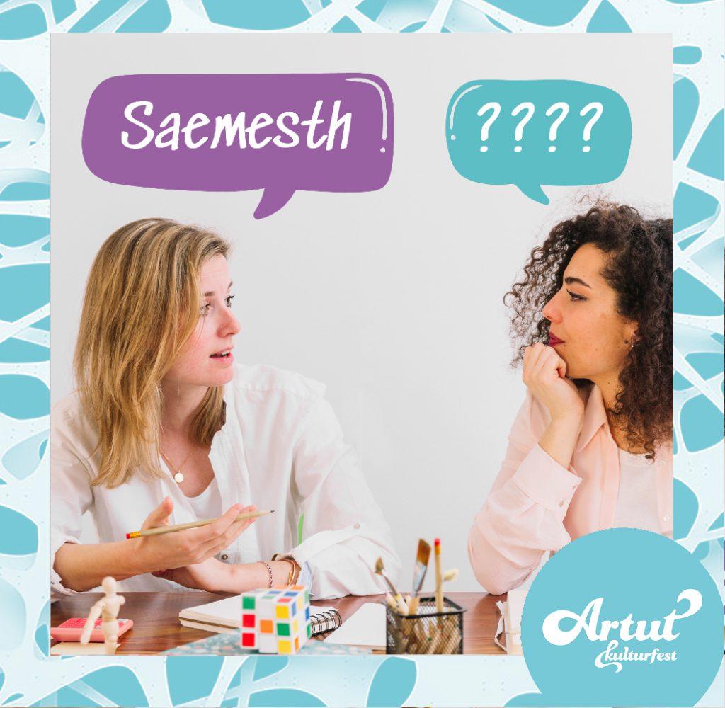 Saemesth! -snakk samisk til meg!